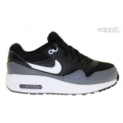 air max 1 noir gris blanc