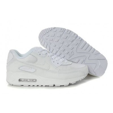 air max 90 blanche soldes