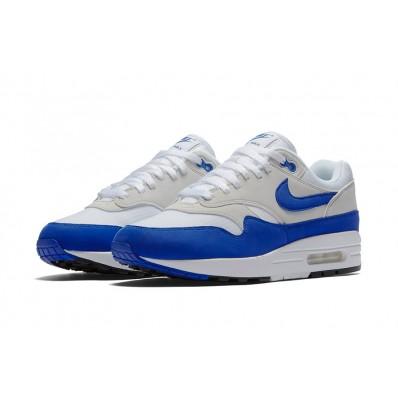 air max blanche bleu