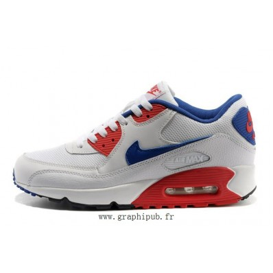 air max bleu blanc rouge