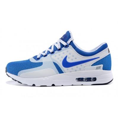 air max bleu blanche