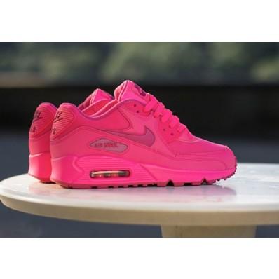 air max femme rose fluo