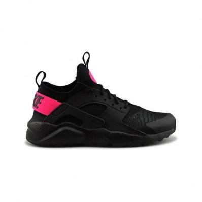 basket nike rose et noir