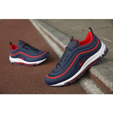 nike air max 97 bleu rouge