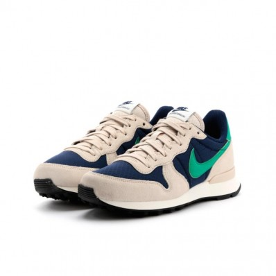 nike internationalist femme bleu vert