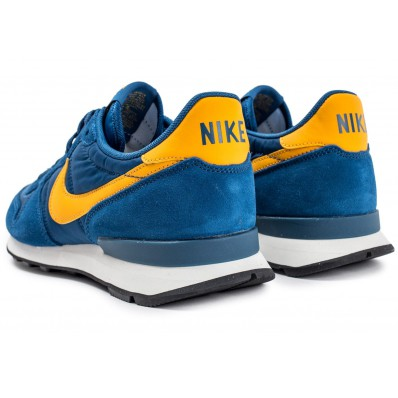nike internationalist homme bleu et jaune