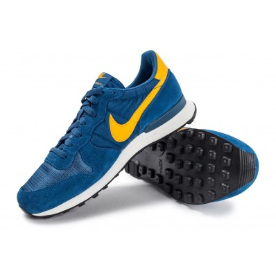 nike internationalist homme bleu jaune
