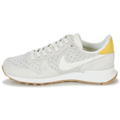 nike internationalist premium femme beige