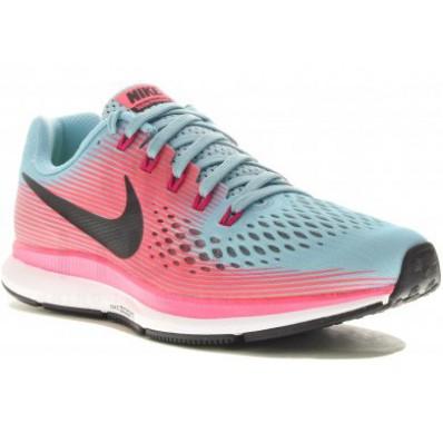 nike running femme grise et rose