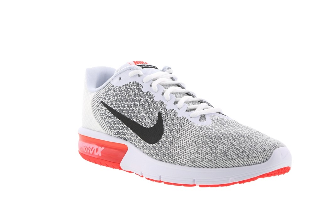 nike air max sequent 2 blanche et rouge