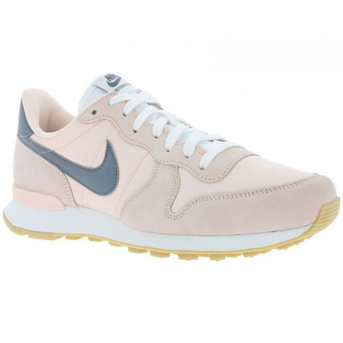 nike internationalist femme grise et rose,Chaussures NIKE ...