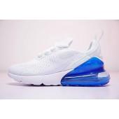 air max 270 bleu blanche