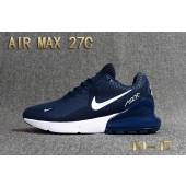 air max 270 bleu foncé