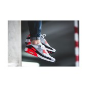air max 90 grise rouge