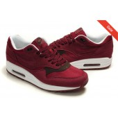 nike air max 1 bordeaux rood