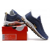 nike air max 97 bleu or