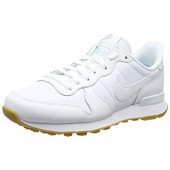 nike internationalist femme blanc et doré