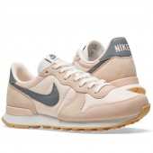 nike internationalist femme rose pale gris