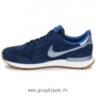 nike internationalist femme marine