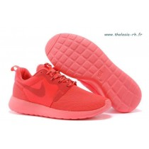 nike roshe run rouge homme