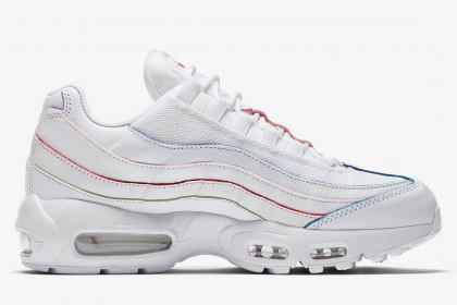 air max 95 rouge bleu blanc