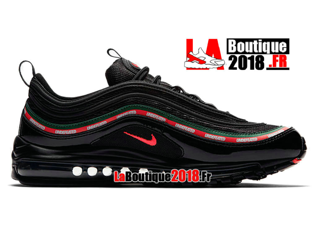 air max 97 noir logo rouge