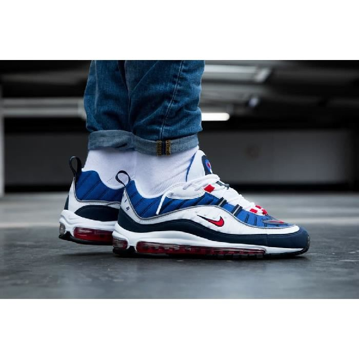 air max 98 blanche homme