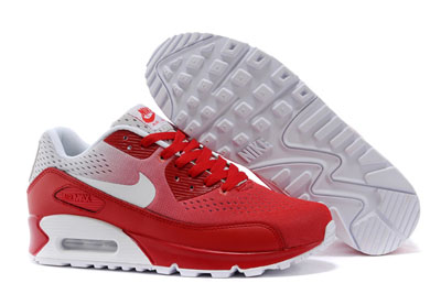 air max blanche et rouge homme