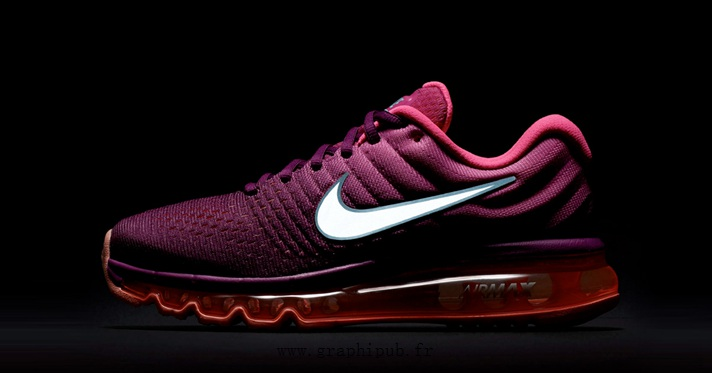 nike air max 2017 bordeaux homme