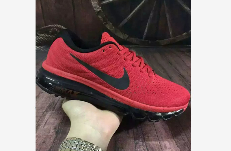 nike air max 2017 bordeaux rood