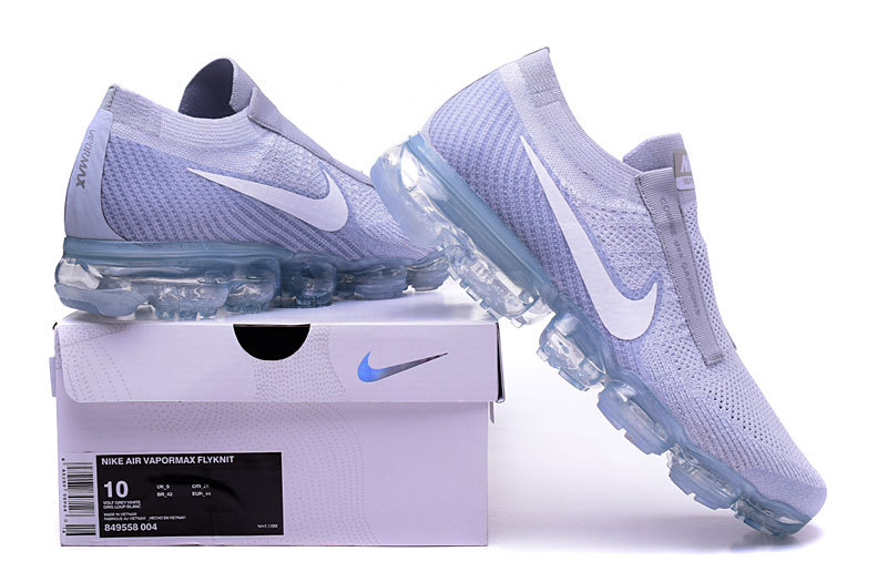 nike air vapormax flyknit homme blanche