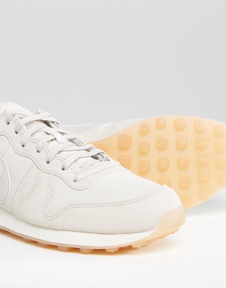 nike internationalist femme blanche doré,Chaussures NIKE