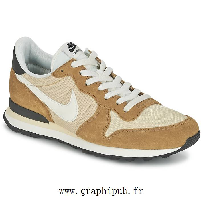 nike internationalist femme camel